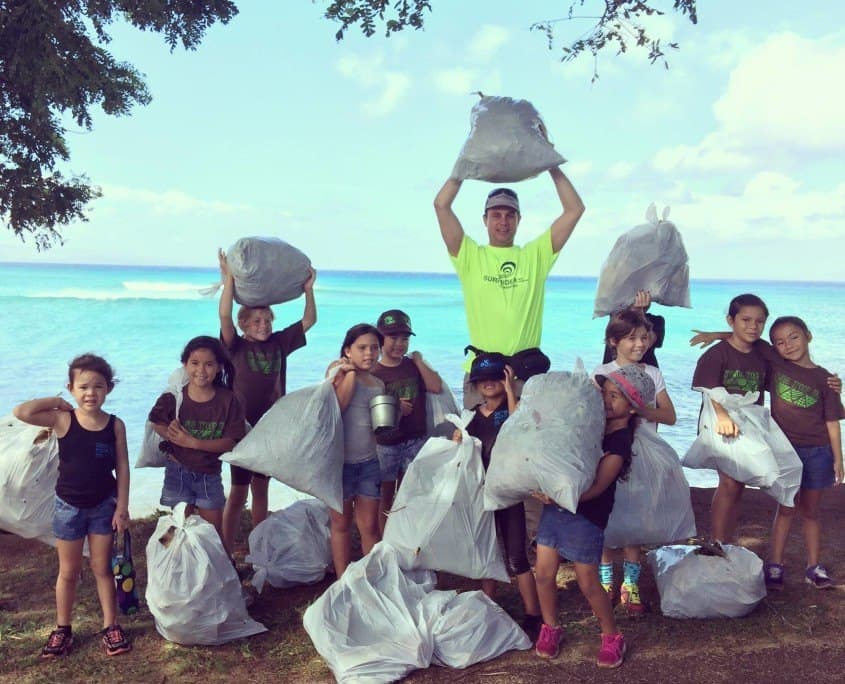 Surfrider Maui Chapter beach cleanup Hawaiian paddle Sports