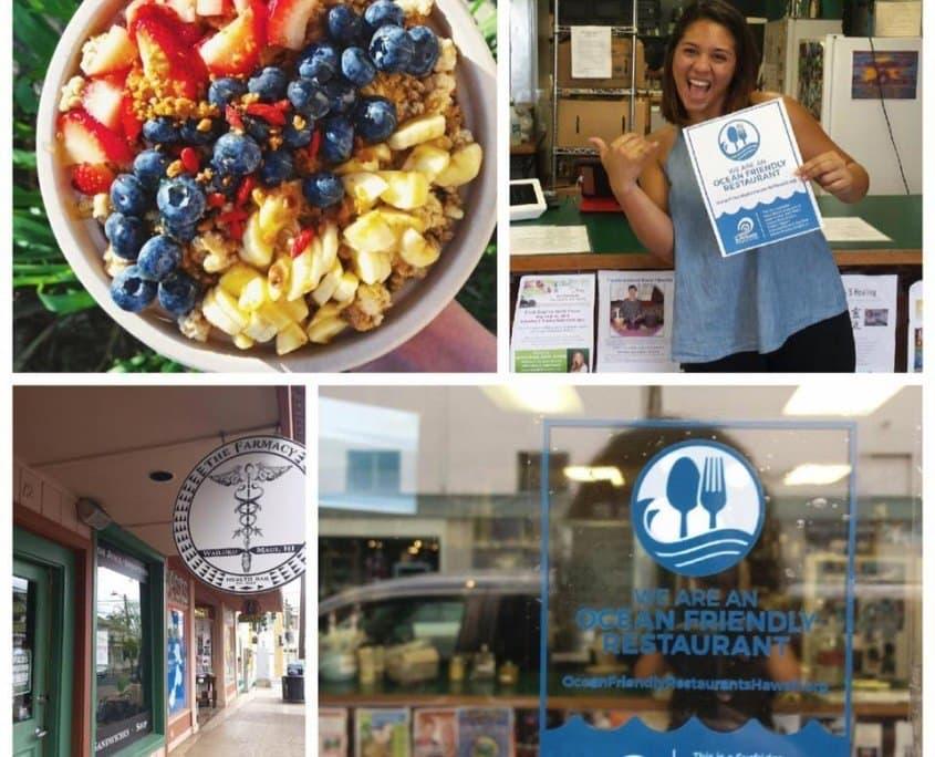 The Ocean Friendly Restaurants Hawaii program seeks to reduce single-use plastics within the food service industry.