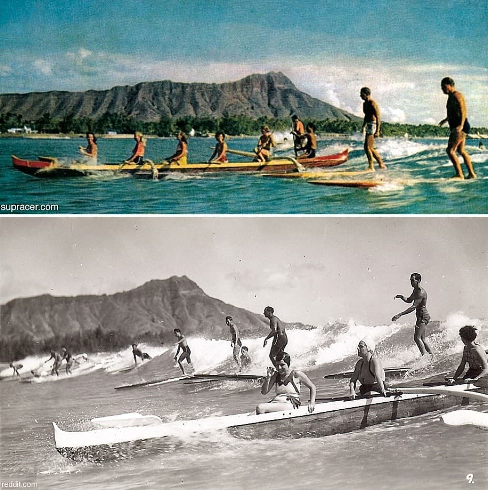 History of Outrigger Canoes