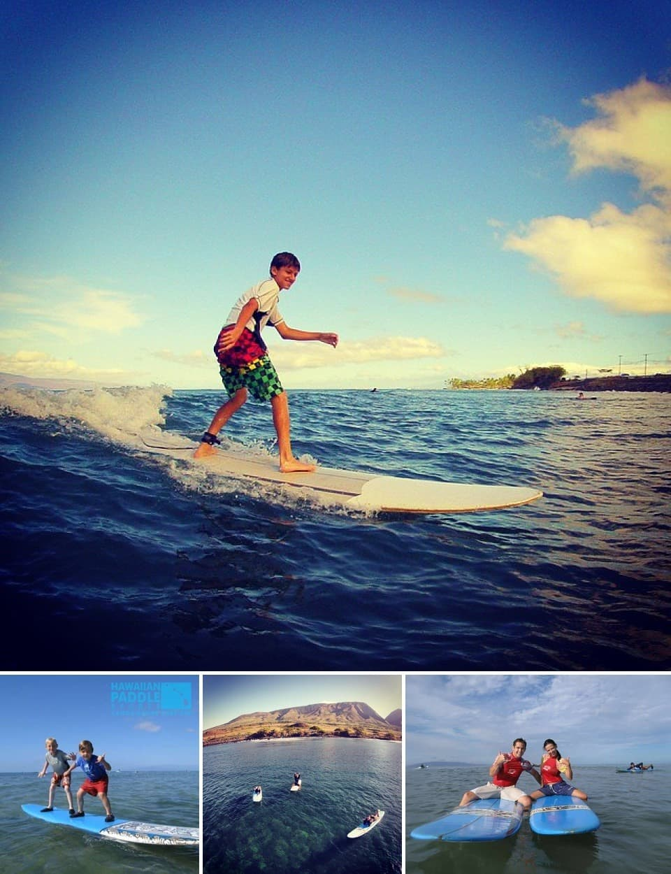 Hawaiian Paddle Sports surf lesson