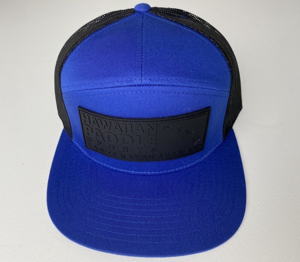 Panel Royal Blue Trucker Hat
