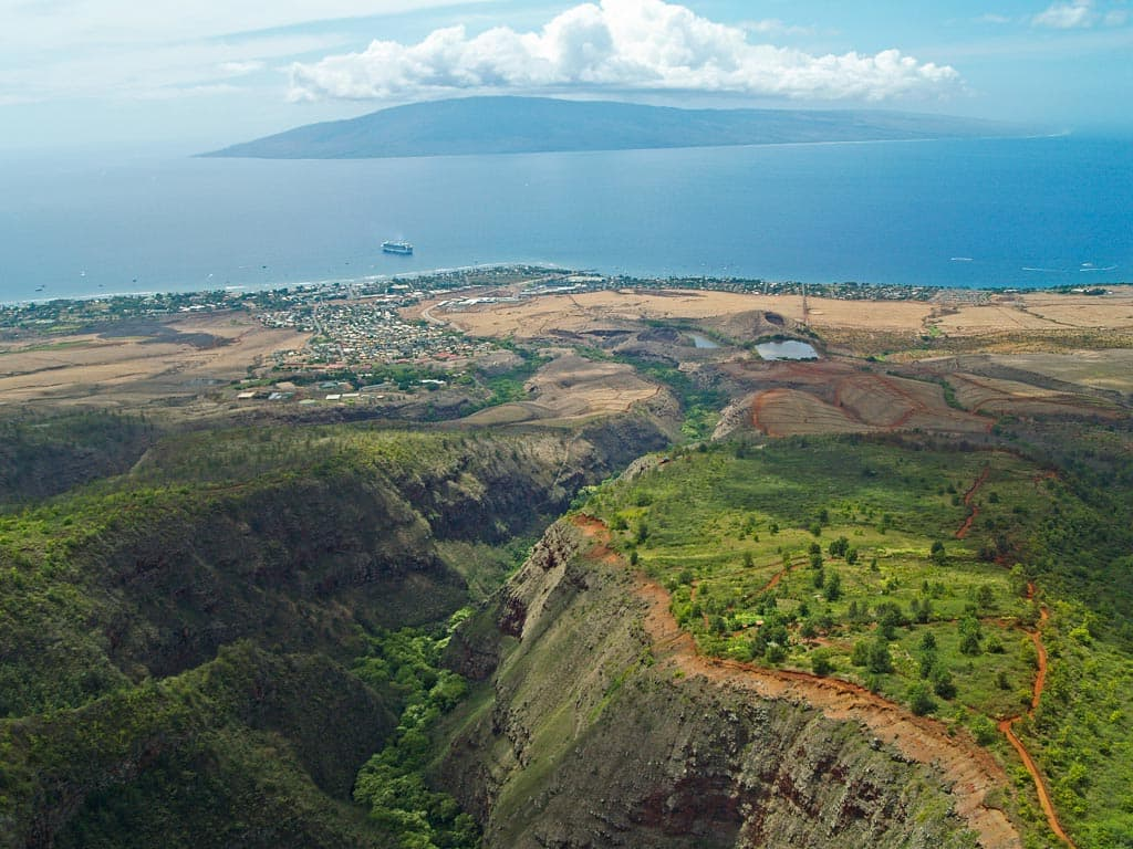 Above Lahaina