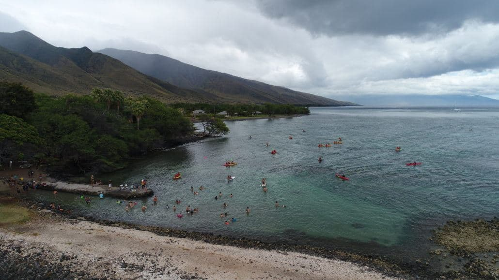 Camp imua hawaiian paddle sports