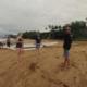 Beach canoe Maui