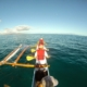 Canoeing an Outrigger