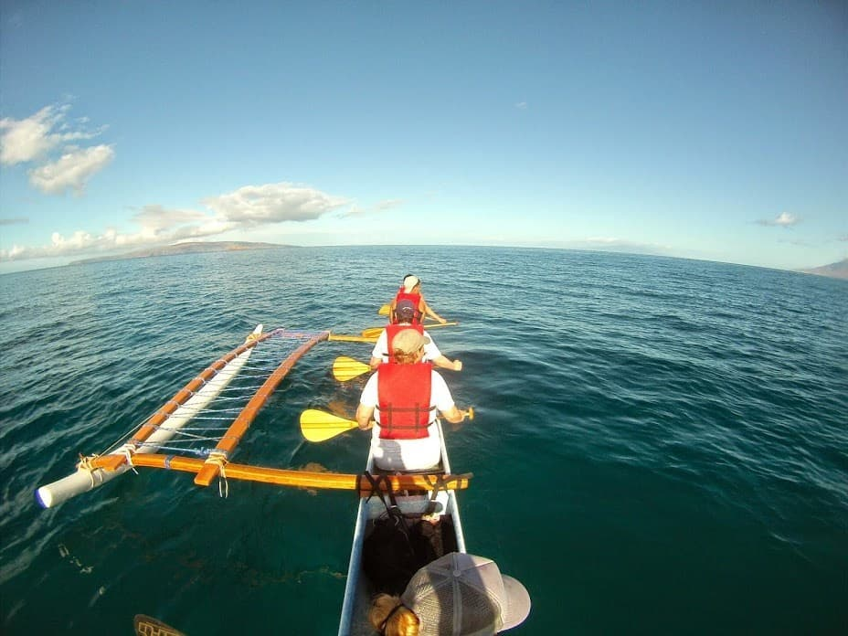 Outrigger Canoe Maui