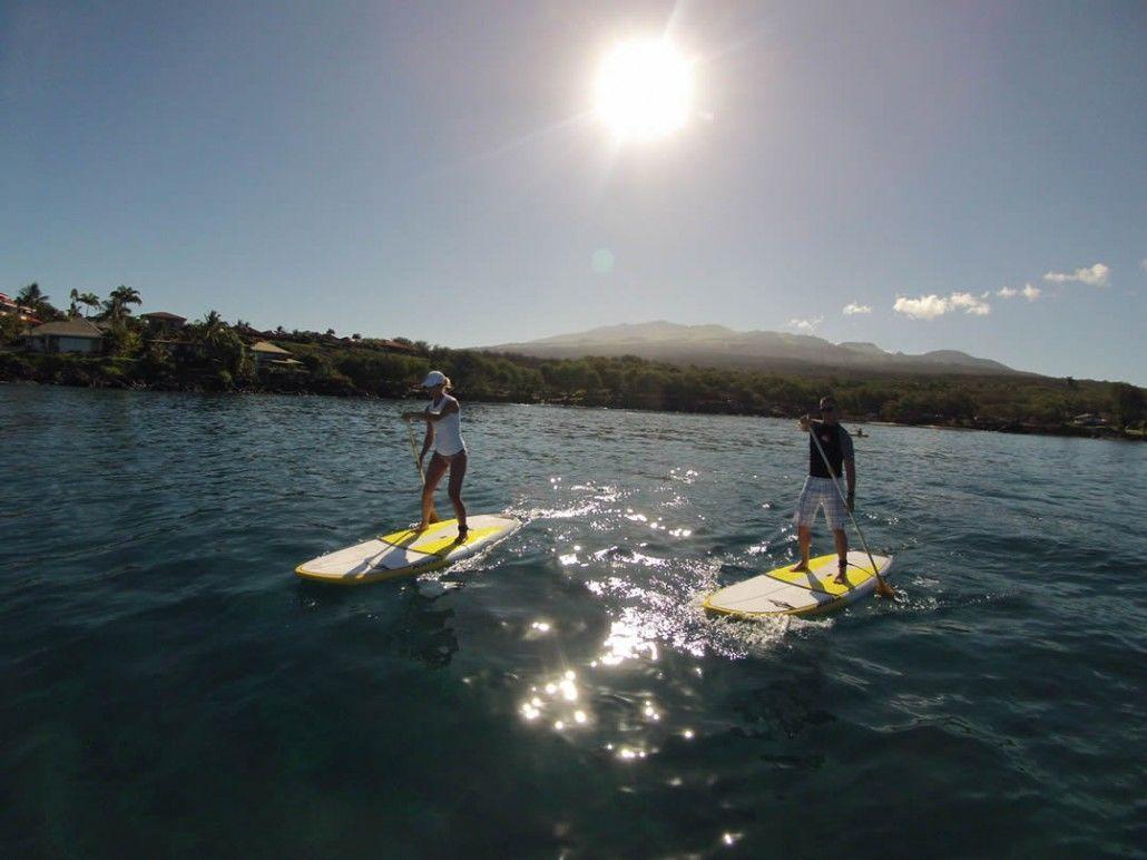 Maui Stand Up Paddle Board Lessons Maui Sup Tours