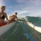 Outrigger Canoe Surfing Fun