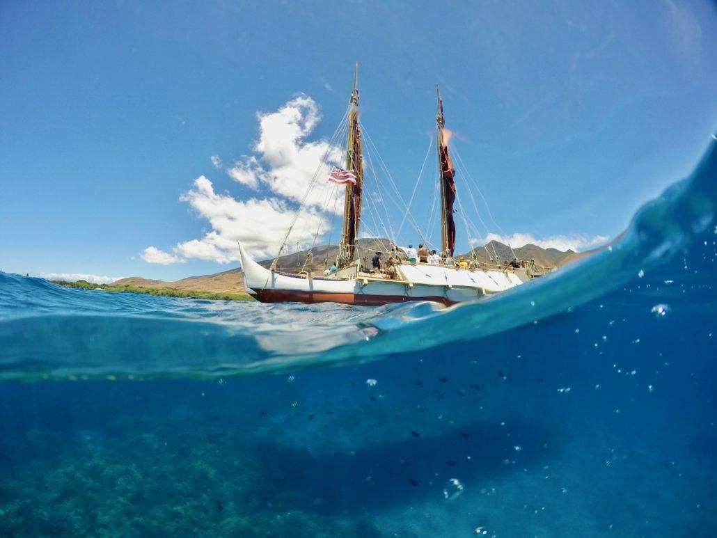 Hokulea set sail to Tahiti