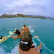 Outrigger Canoe andSurf Session