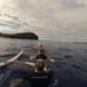Paddling to Molokini Crater