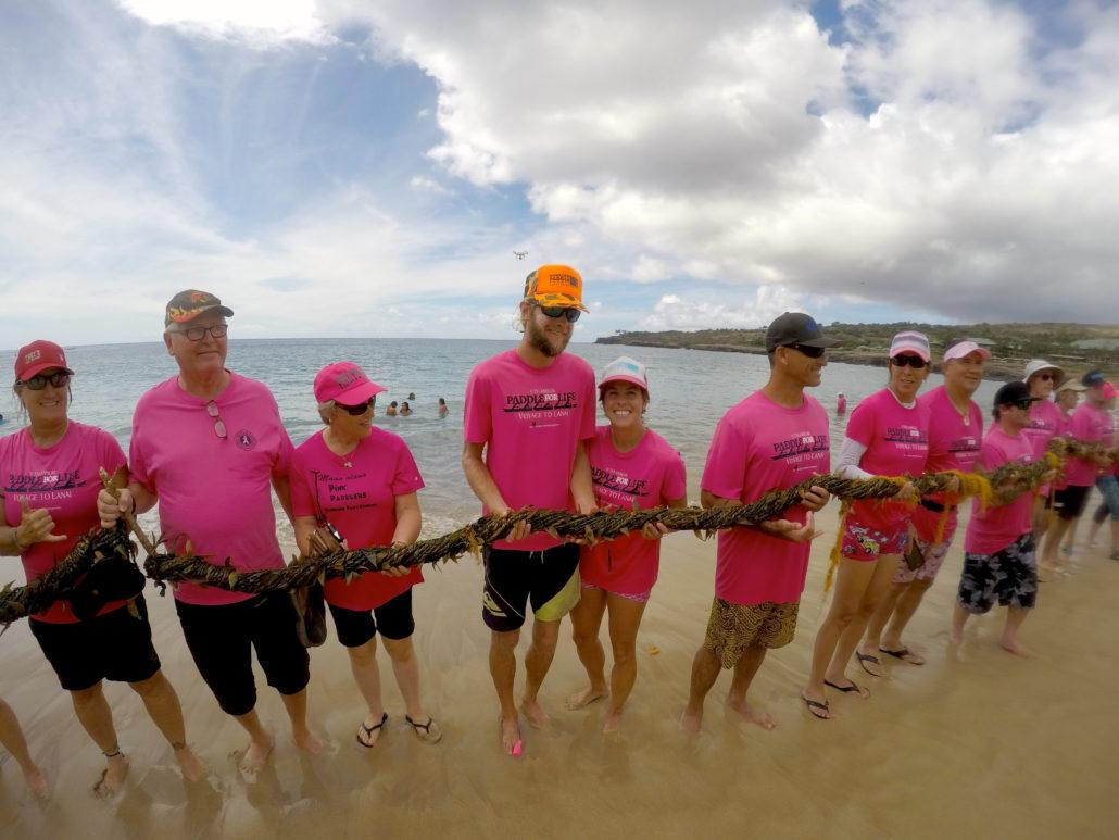 Paddle for life lei