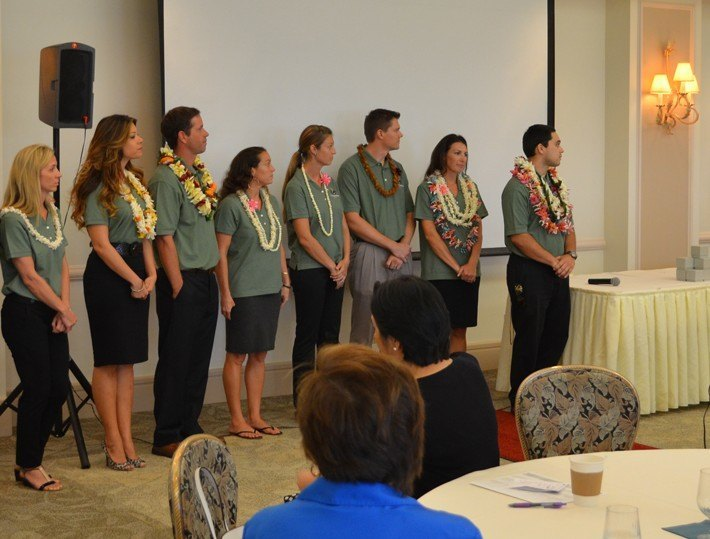 Graduation of the 2014 Ka Ipu Kukui Fellows