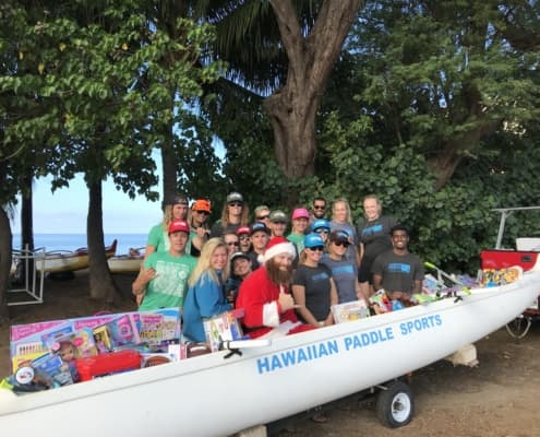 Maui Santa and Toys
