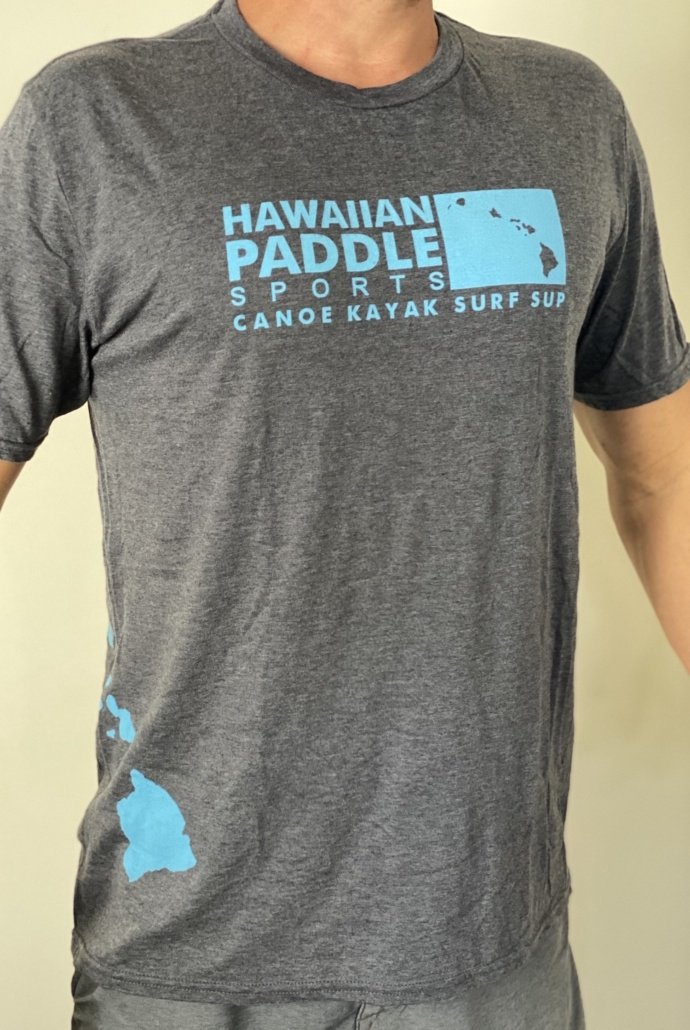 Hawaiian Paddle Sports front Tshirt