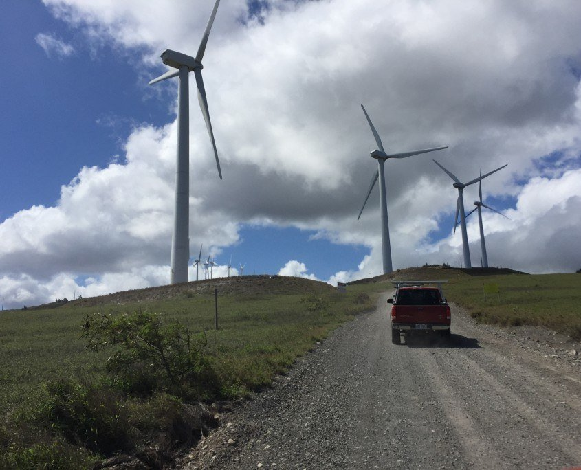 wind turbines Maui Maui Cultural Lands