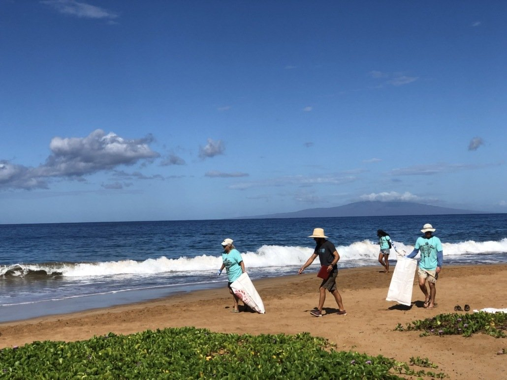 International Coastal Cleanup Day South Maui