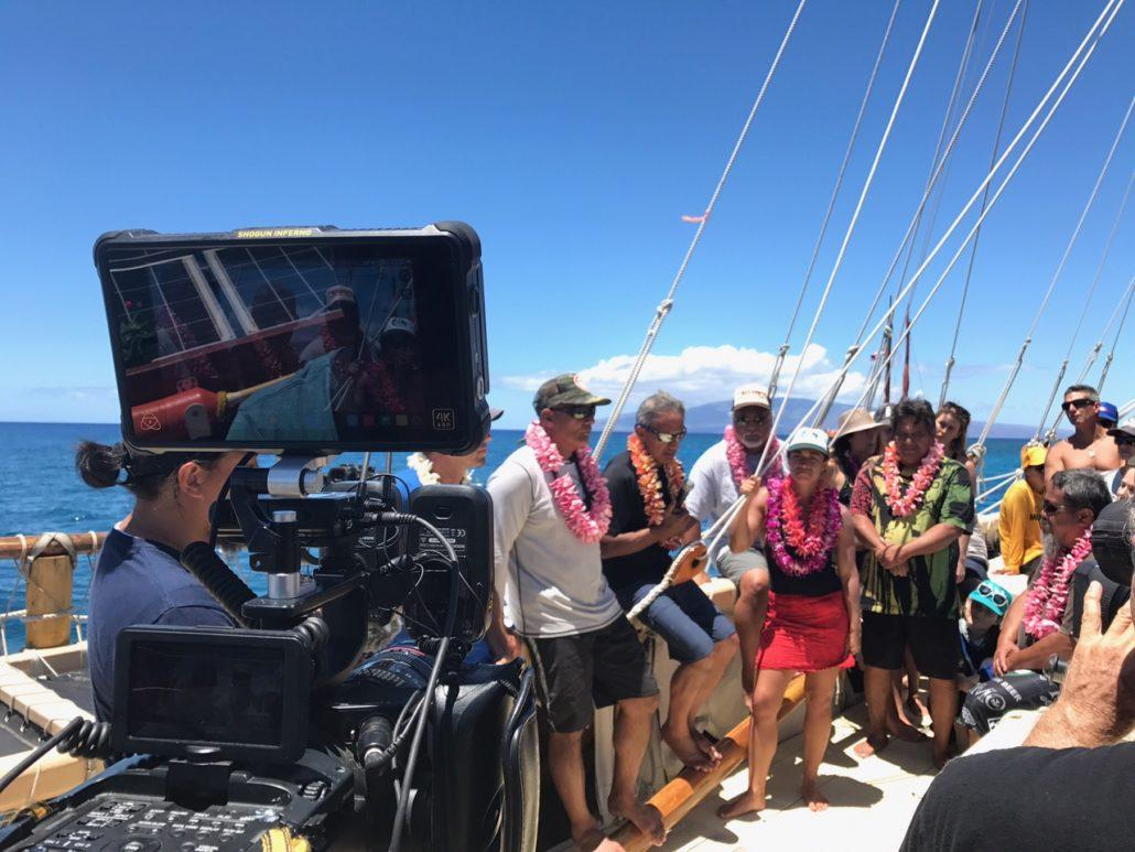 On board Hokulea