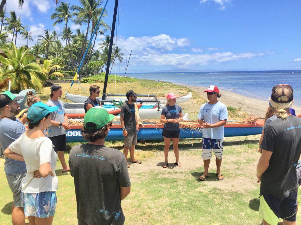 volunteer maui hawaiian paddle sports