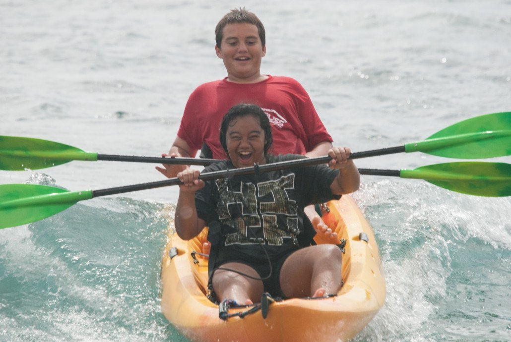 MYFS and Hawaiian Padde Sports Kayak Surf