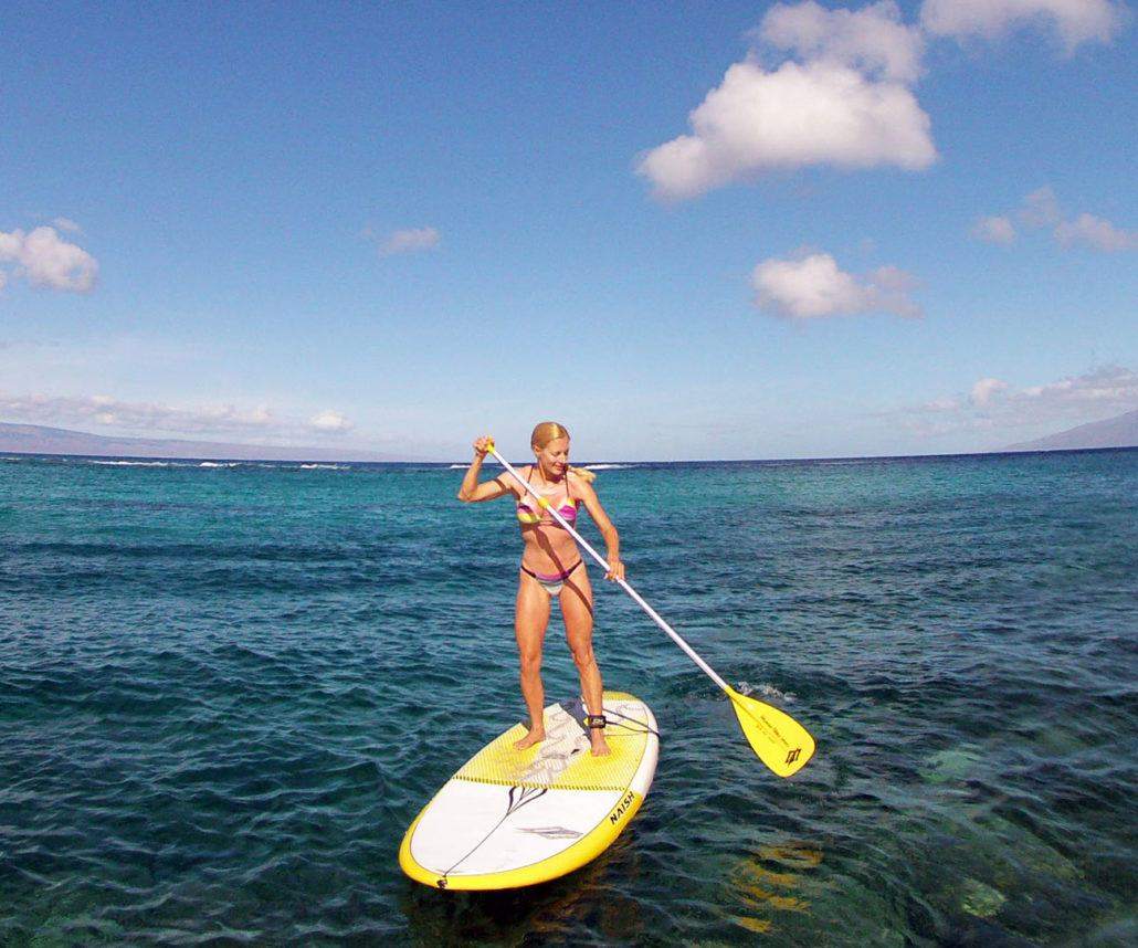 Stand Up Paddleboarding in Maui