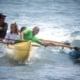 Canoe Surfing with Maui Youth and Family Services