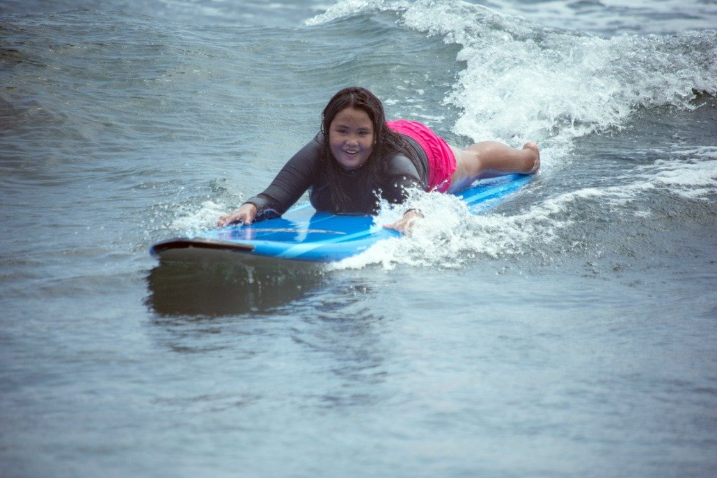 Surfing with Maui Youth and Family Services