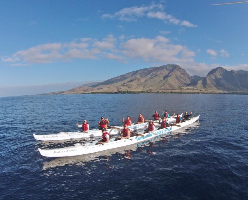 Olowalu Canoe Dbl Shakas