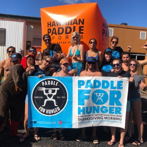 Paddle For Hunger Thanksgiving Morning