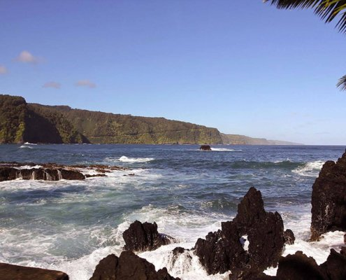Road to Hana from Keanae