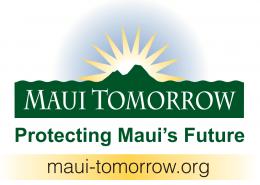 Maui Tomorrow Logo