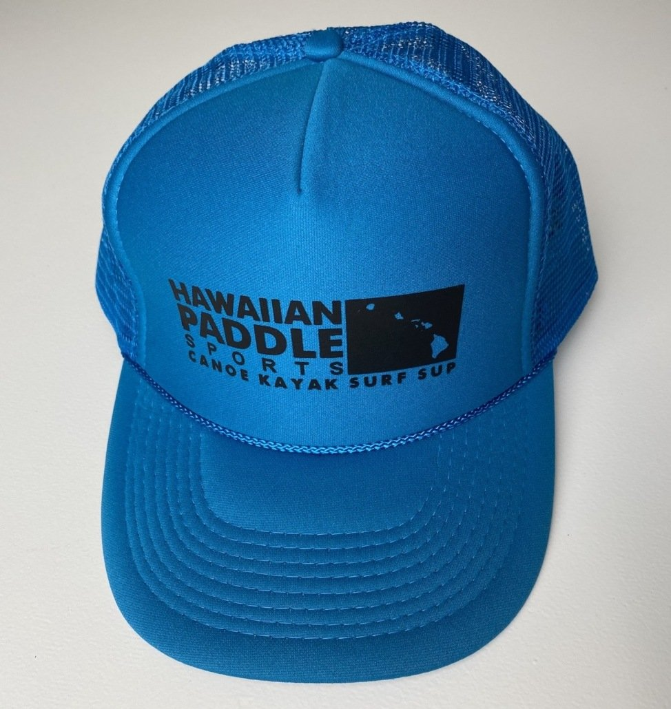 Turquoise Trucker Hat