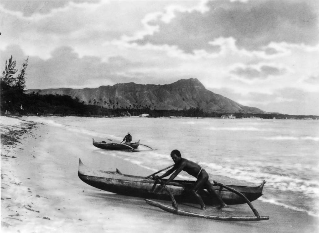 native outrigger canoe hawaiian canoe club