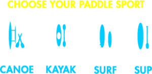 choose your paddle sport