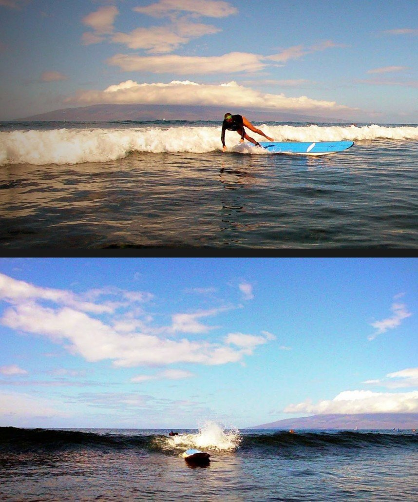Etiquette for surfing in Maui