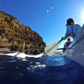 canoe tour molokini challenge