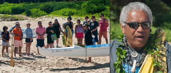 Hawaiian Paddle Sports Canoe Blessing