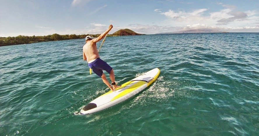 stand up paddle lessons in Maui