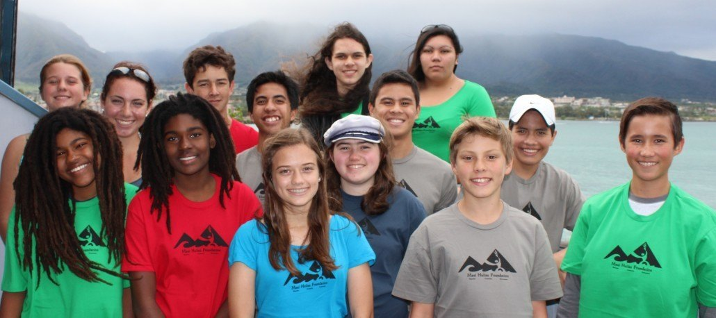 Maui Huliau Foundation youth