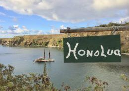 Honolua sign