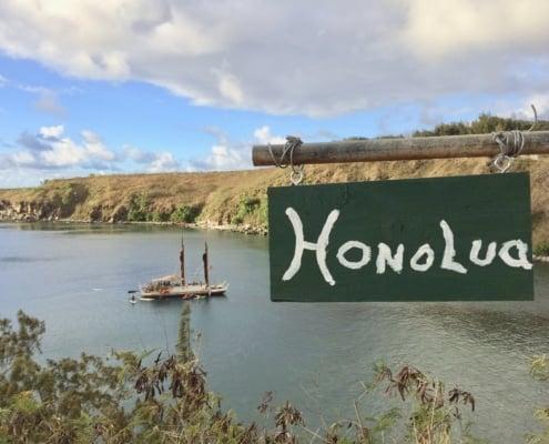 Honolua sign