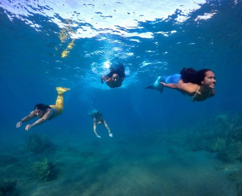 Hawaii Mermaid Adventures Ocean Lesson