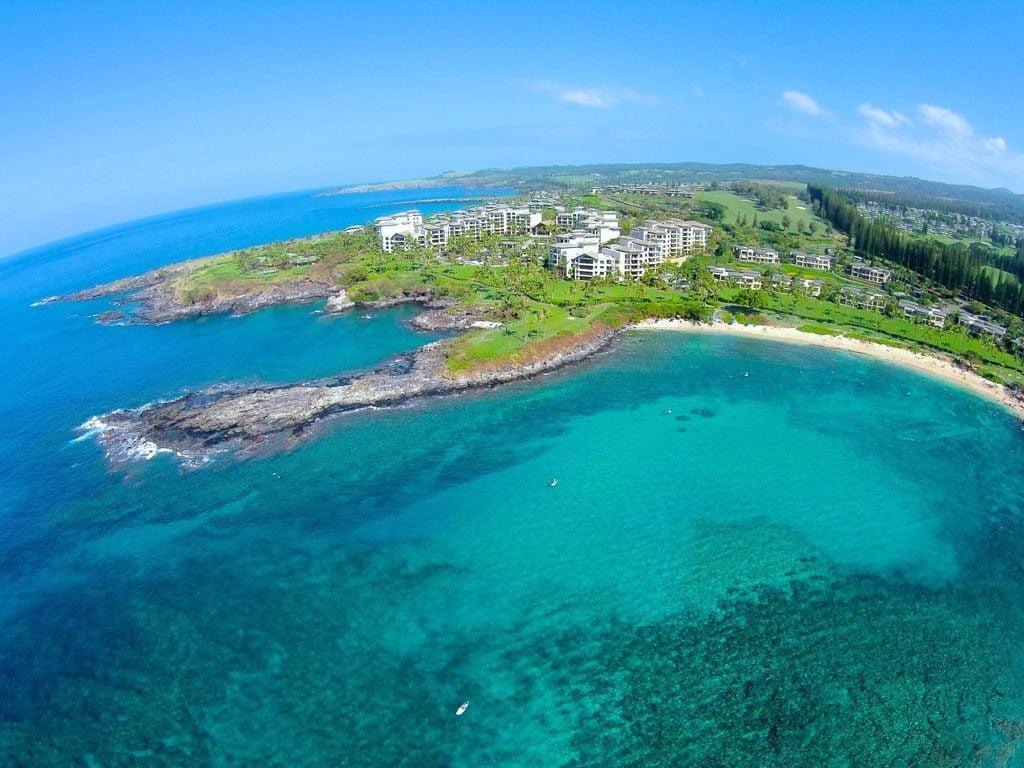 Kapalua Resort Aerial