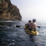 Kayaking Molokini's Backwall