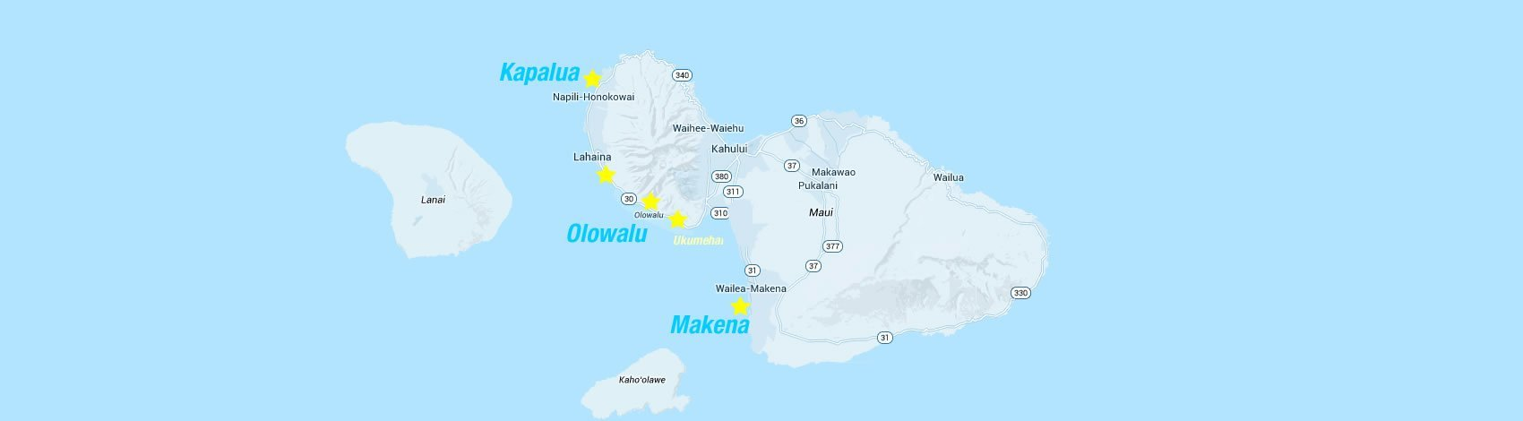 maui map of fun things to do