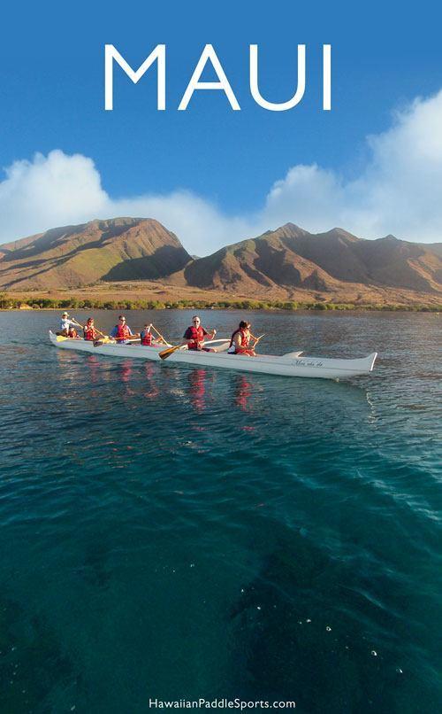 Maui outrigger