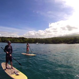 Stand Up Paddling in Maui