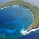 Molokini Crater Aerial