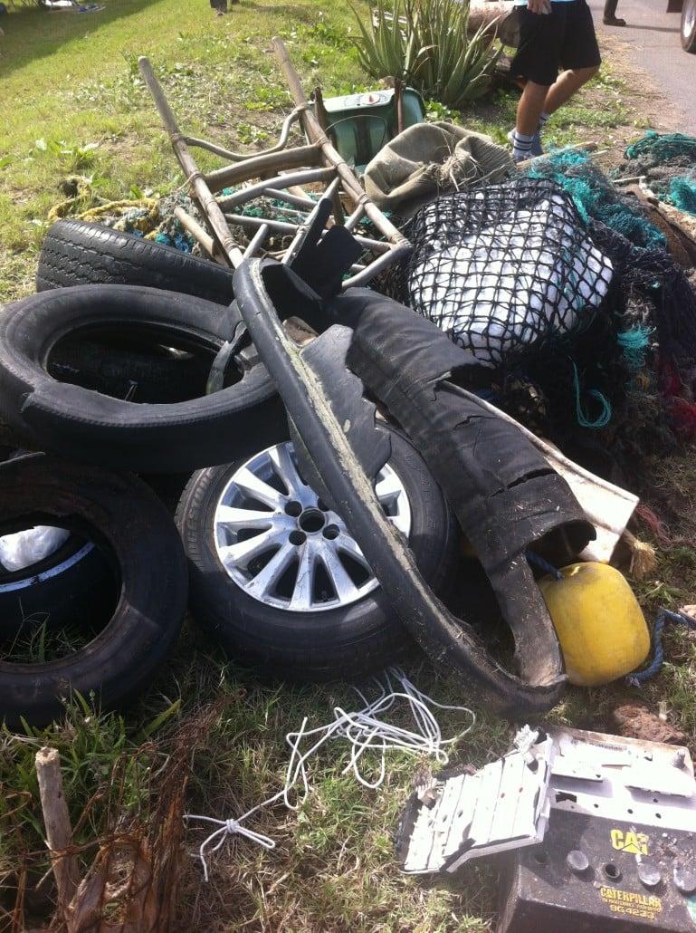 Rubbish removed from Ka'ehu Beach