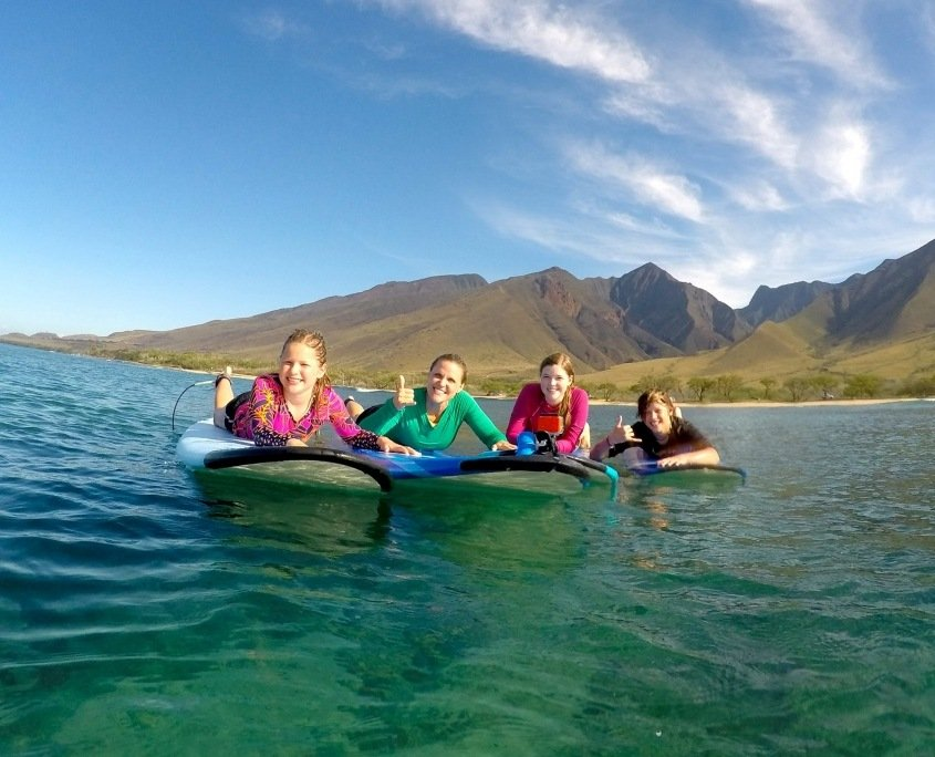 Private Surfing Lessons For Families